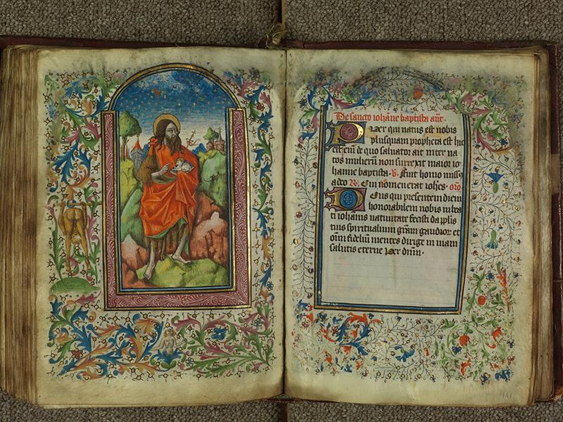 PARIS, Bibliothèque de l'Ecole des Beaux-Arts, Ms.Mas 0004, f. 140v - 141
