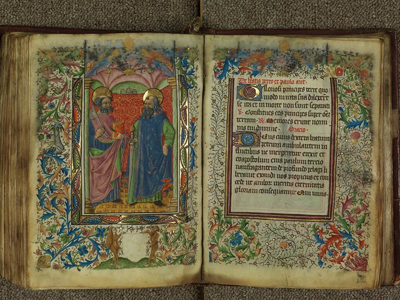 PARIS, Bibliothèque de l'Ecole des Beaux-Arts, Ms.Mas 0004, f. 141v - 142