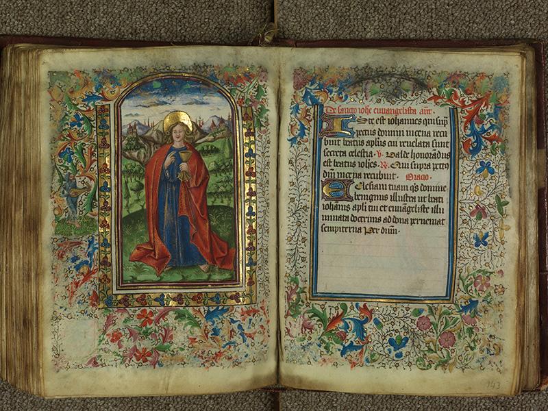 PARIS, Bibliothèque de l'Ecole des Beaux-Arts, Ms.Mas 0004, f. 142v - 143