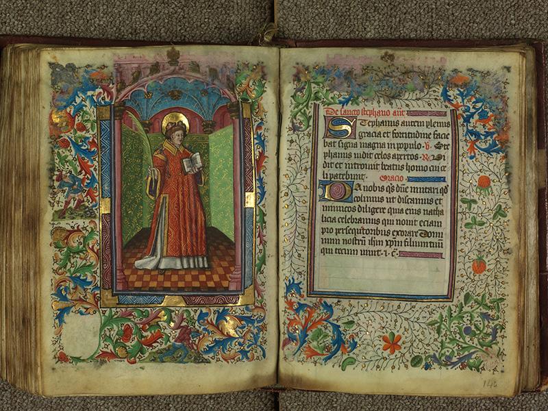 PARIS, Bibliothèque de l'Ecole des Beaux-Arts, Ms.Mas 0004, f. 143v - 144