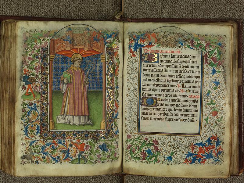 PARIS, Bibliothèque de l'Ecole des Beaux-Arts, Ms.Mas 0004, f. 144v - 145
