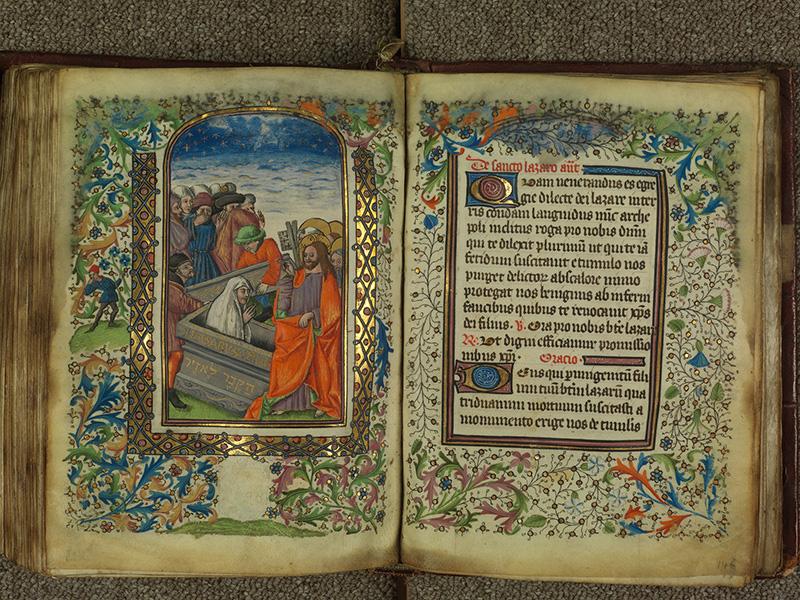 PARIS, Bibliothèque de l'Ecole des Beaux-Arts, Ms.Mas 0004, f. 145v - 146