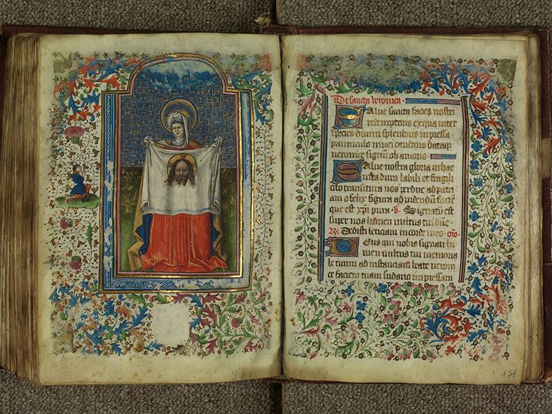 PARIS, Bibliothèque de l'Ecole des Beaux-Arts, Ms.Mas 0004, f. 153v - 154