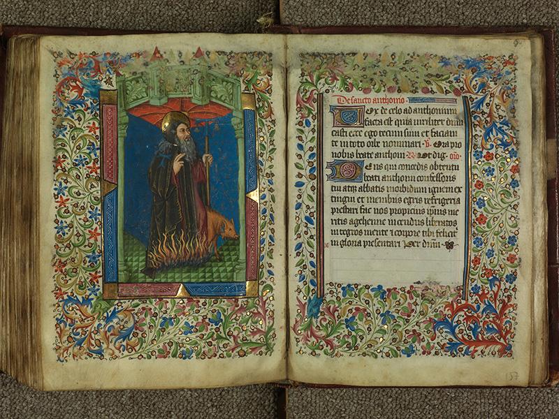 PARIS, Bibliothèque de l'Ecole des Beaux-Arts, Ms.Mas 0004, f. 156v - 157