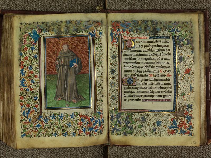 PARIS, Bibliothèque de l'Ecole des Beaux-Arts, Ms.Mas 0004, f. 157v - 158