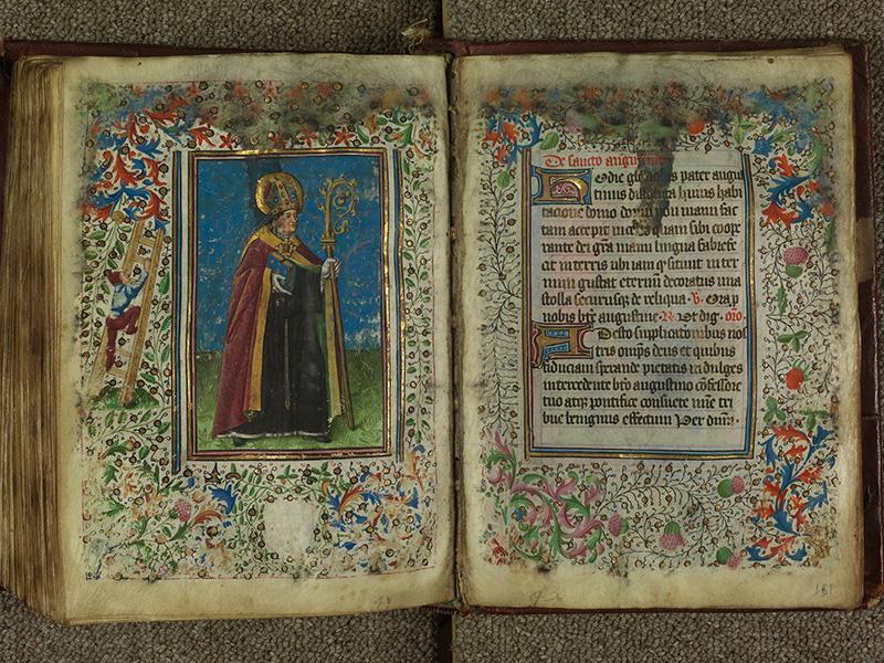 PARIS, Bibliothèque de l'Ecole des Beaux-Arts, Ms.Mas 0004, f. 160v - 161