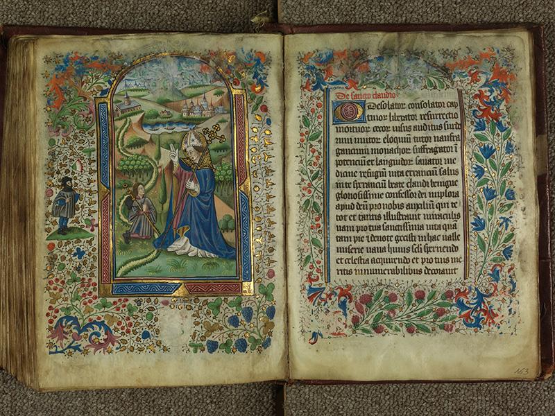 PARIS, Bibliothèque de l'Ecole des Beaux-Arts, Ms.Mas 0004, f. 162v - 163