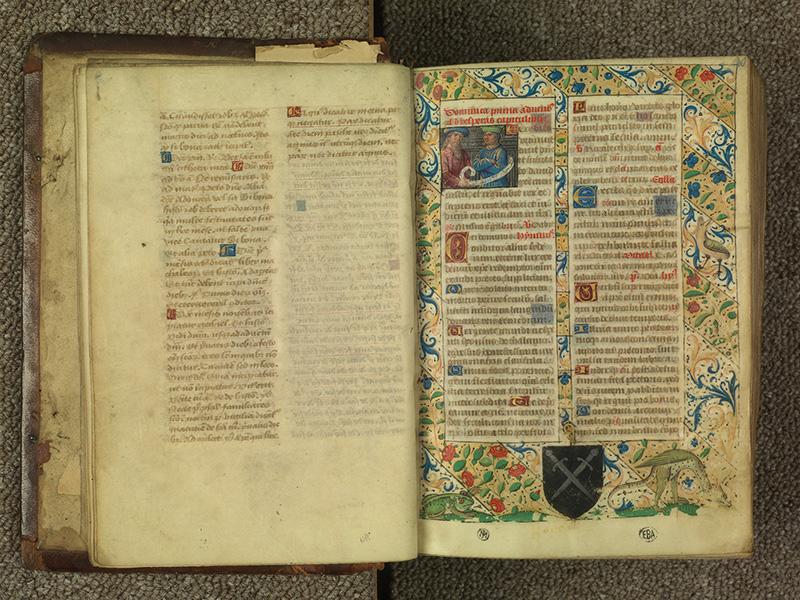 PARIS, Bibliothèque de l'Ecole des Beaux-Arts, Ms.Mas 0010, f. 009v - 010