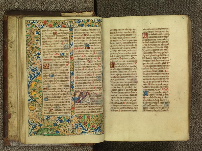 PARIS, Bibliothèque de l'Ecole des Beaux-Arts, Ms.Mas 0010, f. 030v - 031