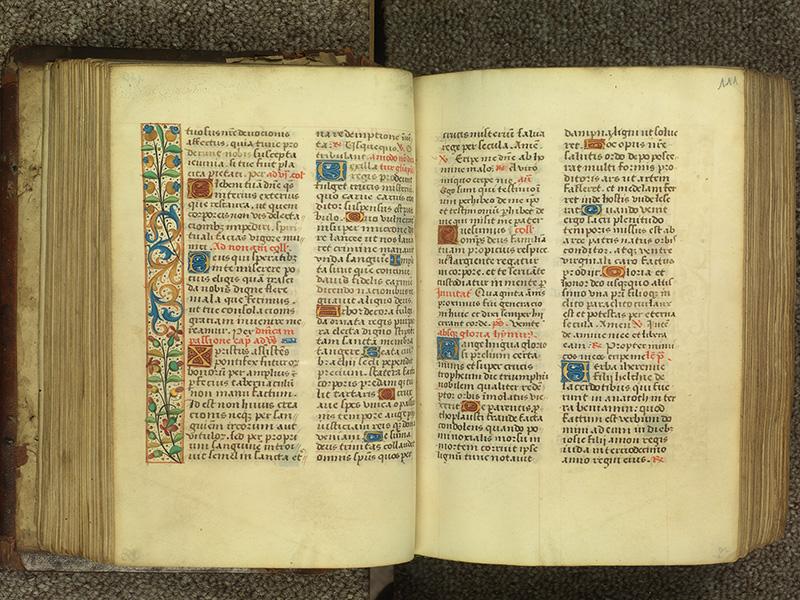 PARIS, Bibliothèque de l'Ecole des Beaux-Arts, Ms.Mas 0010, f. 110v - 111