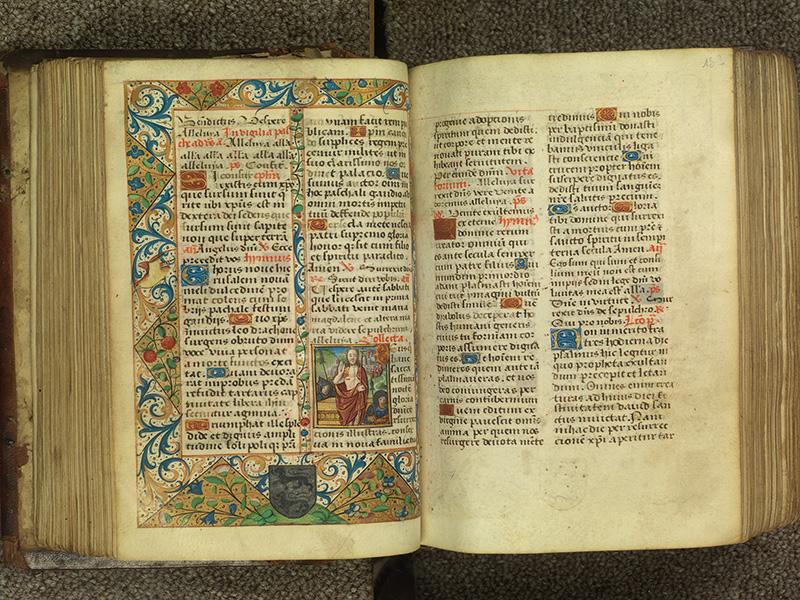 PARIS, Bibliothèque de l'Ecole des Beaux-Arts, Ms.Mas 0010, f. 131v - 132