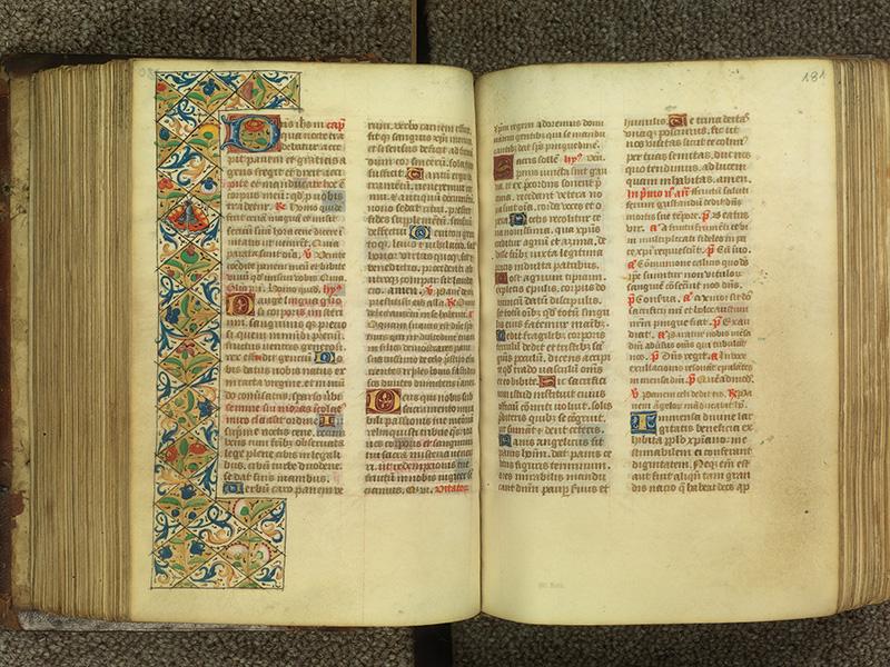 PARIS, Bibliothèque de l'Ecole des Beaux-Arts, Ms.Mas 0010, f. 180v - 181
