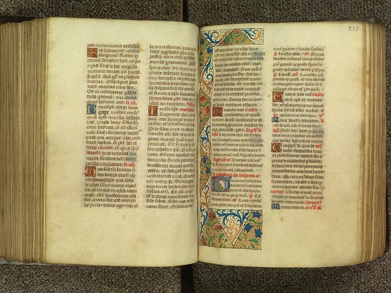 PARIS, Bibliothèque de l'Ecole des Beaux-Arts, Ms.Mas 0010, f. 236v - 237