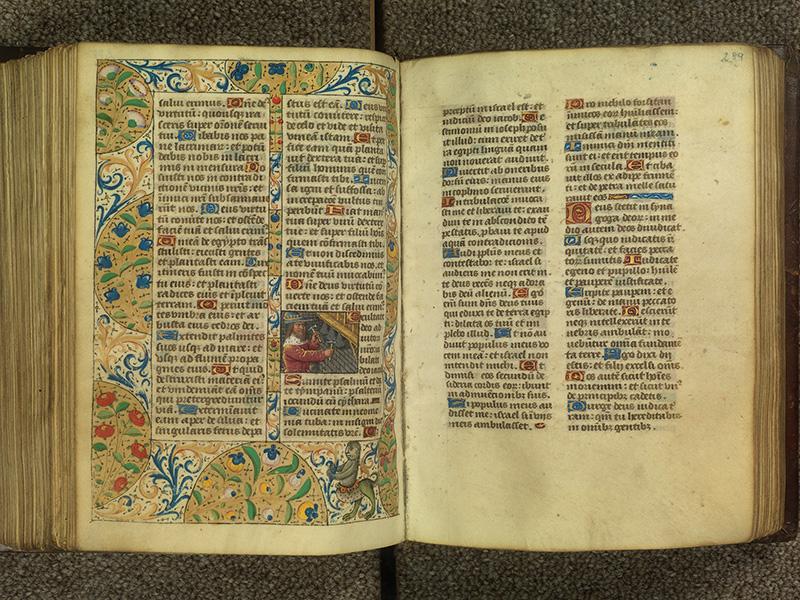 PARIS, Bibliothèque de l'Ecole des Beaux-Arts, Ms.Mas 0010, f. 288v - 289