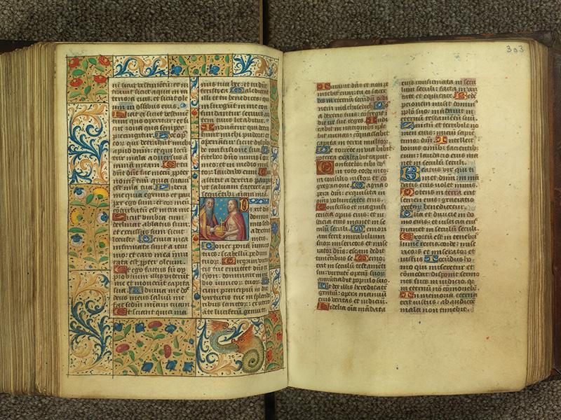 PARIS, Bibliothèque de l'Ecole des Beaux-Arts, Ms.Mas 0010, f. 302v - 303
