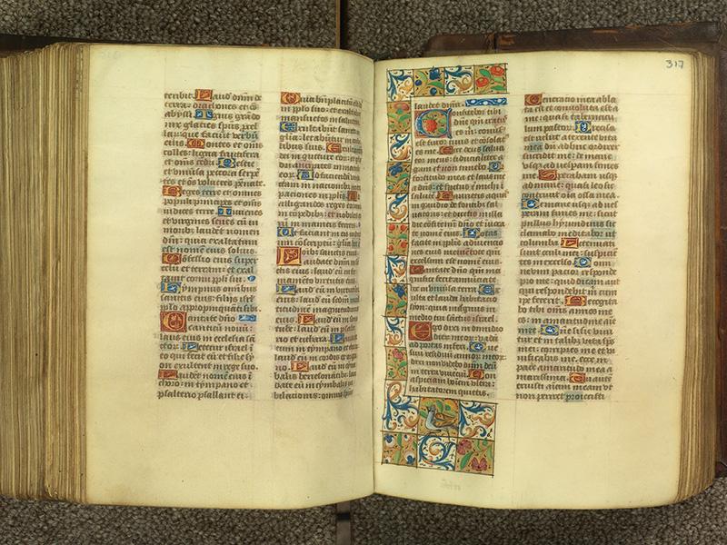 PARIS, Bibliothèque de l'Ecole des Beaux-Arts, Ms.Mas 0010, f. 316v - 317