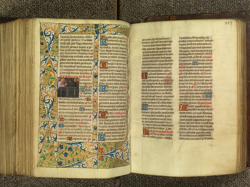 PARIS, Bibliothèque de l'Ecole des Beaux-Arts, Ms.Mas 0010, f. 328v - 329