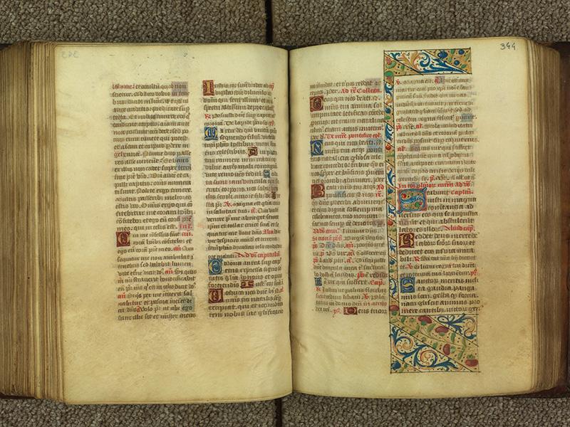 PARIS, Bibliothèque de l'Ecole des Beaux-Arts, Ms.Mas 0010, f. 343v - 344