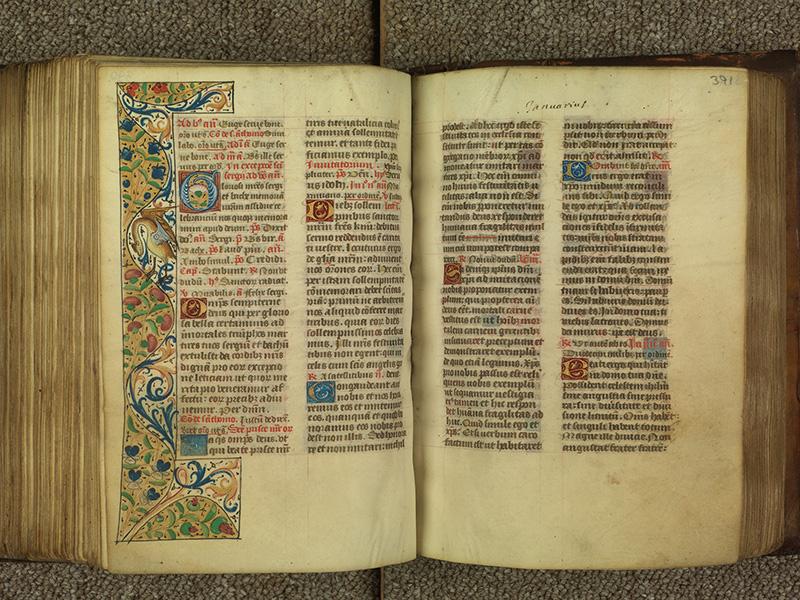 PARIS, Bibliothèque de l'Ecole des Beaux-Arts, Ms.Mas 0010, f. 390v - 391