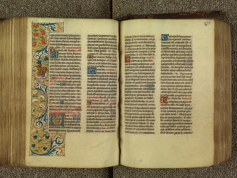 PARIS, Bibliothèque de l'Ecole des Beaux-Arts, Ms.Mas 0010, f. 434v - 435