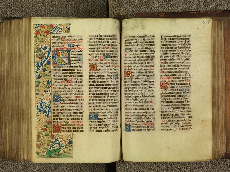PARIS, Bibliothèque de l'Ecole des Beaux-Arts, Ms.Mas 0010, f. 525v - 526