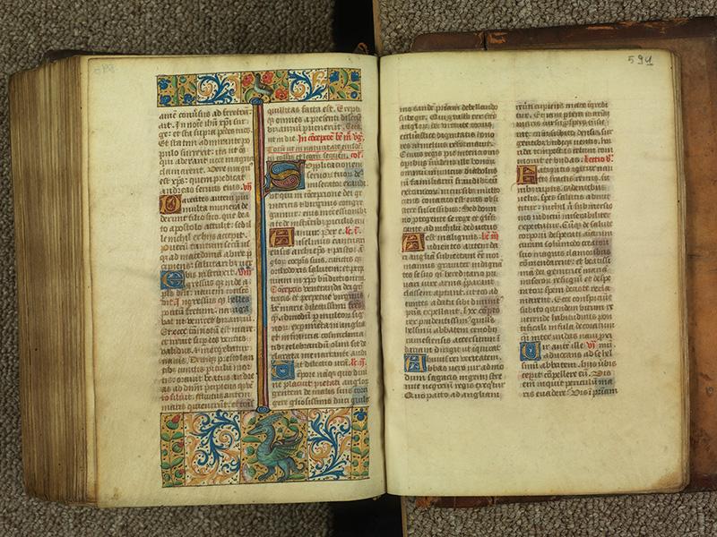 PARIS, Bibliothèque de l'Ecole des Beaux-Arts, Ms.Mas 0010, f. 590v - 591