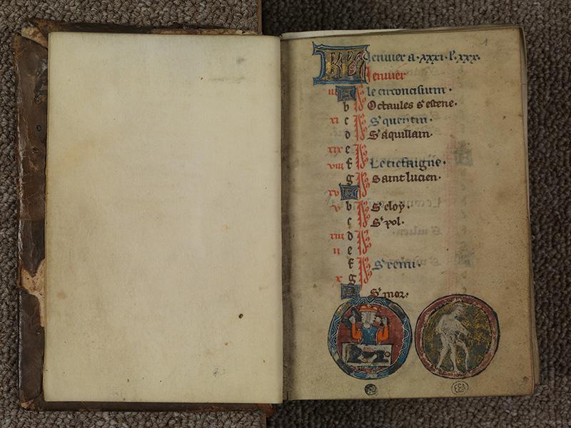 PARIS, Bibliothèque de l'Ecole des Beaux-Arts, Ms.Mas 0015, f. 000Bv - 001