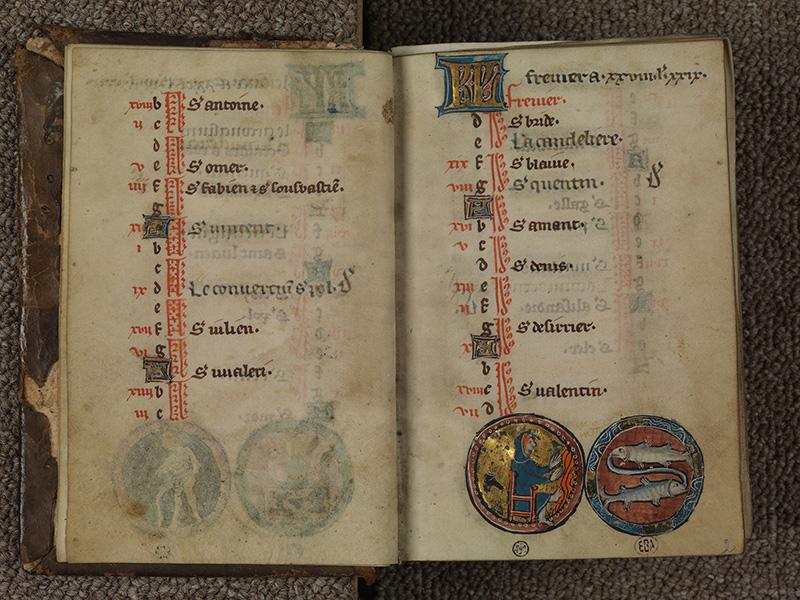 PARIS, Bibliothèque de l'Ecole des Beaux-Arts, Ms.Mas 0015, f. 001v - 002