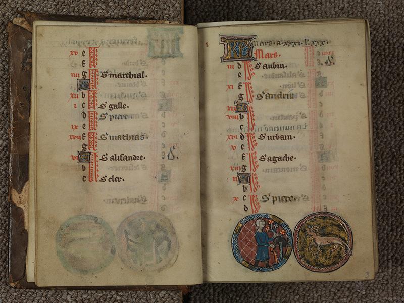 PARIS, Bibliothèque de l'Ecole des Beaux-Arts, Ms.Mas 0015, f. 002v - 003