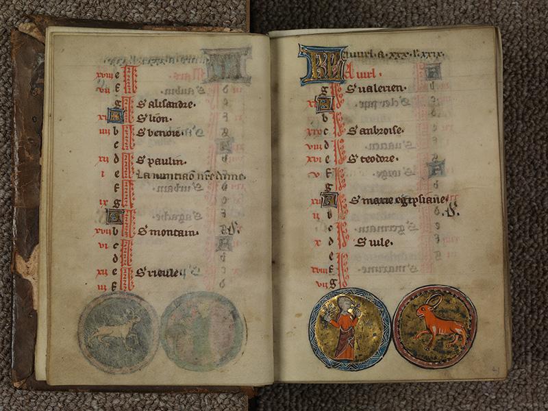 PARIS, Bibliothèque de l'Ecole des Beaux-Arts, Ms.Mas 0015, f. 003v - 004
