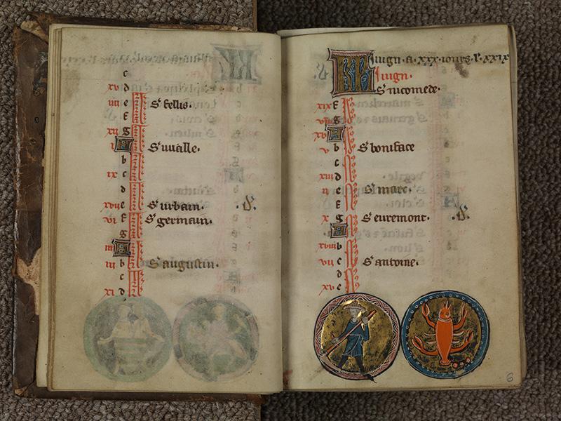 PARIS, Bibliothèque de l'Ecole des Beaux-Arts, Ms.Mas 0015, f. 005v - 006