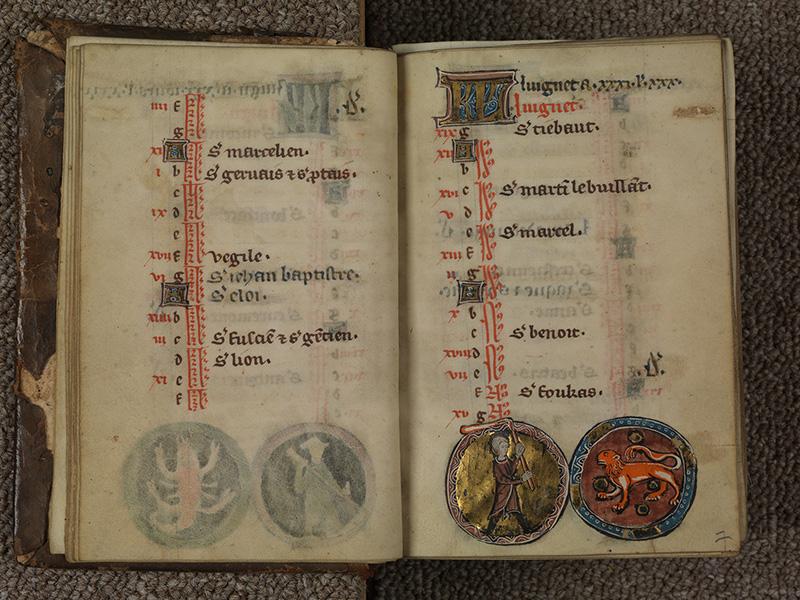 PARIS, Bibliothèque de l'Ecole des Beaux-Arts, Ms.Mas 0015, f. 006v - 007