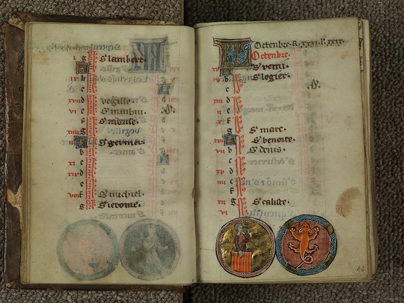 PARIS, Bibliothèque de l'Ecole des Beaux-Arts, Ms.Mas 0015, f. 009v - 010