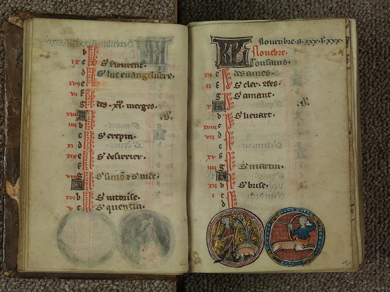 PARIS, Bibliothèque de l'Ecole des Beaux-Arts, Ms.Mas 0015, f. 010v - 011