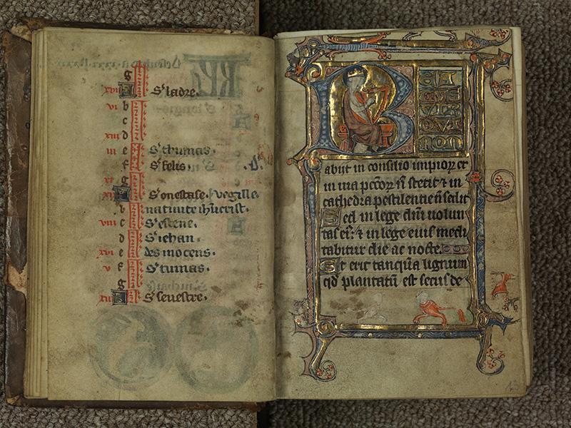 PARIS, Bibliothèque de l'Ecole des Beaux-Arts, Ms.Mas 0015, f. 012v - 013