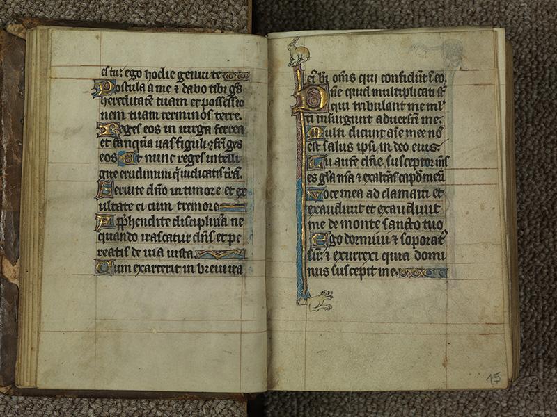 PARIS, Bibliothèque de l'Ecole des Beaux-Arts, Ms.Mas 0015, f. 014v - 015