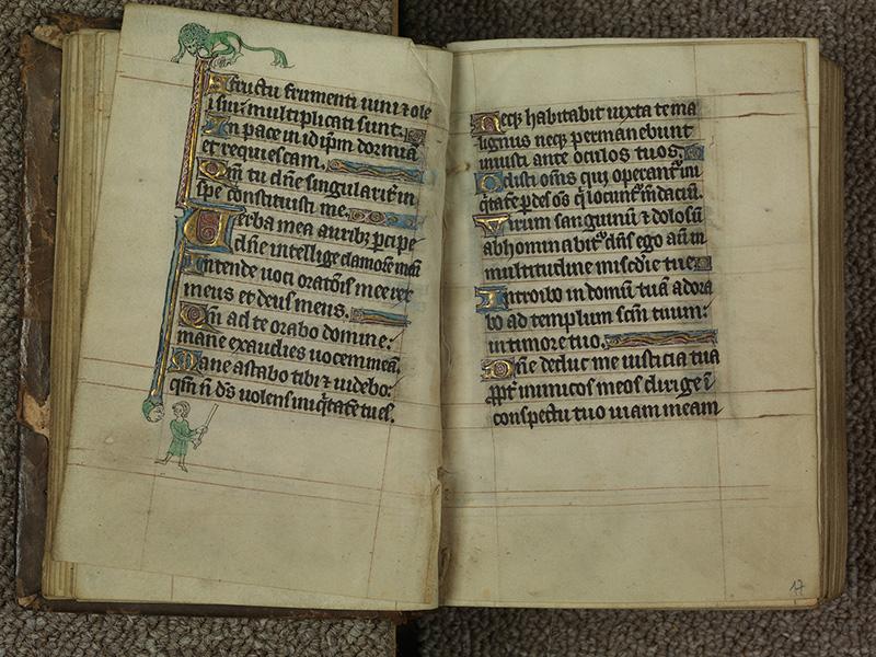 PARIS, Bibliothèque de l'Ecole des Beaux-Arts, Ms.Mas 0015, f. 016v - 017
