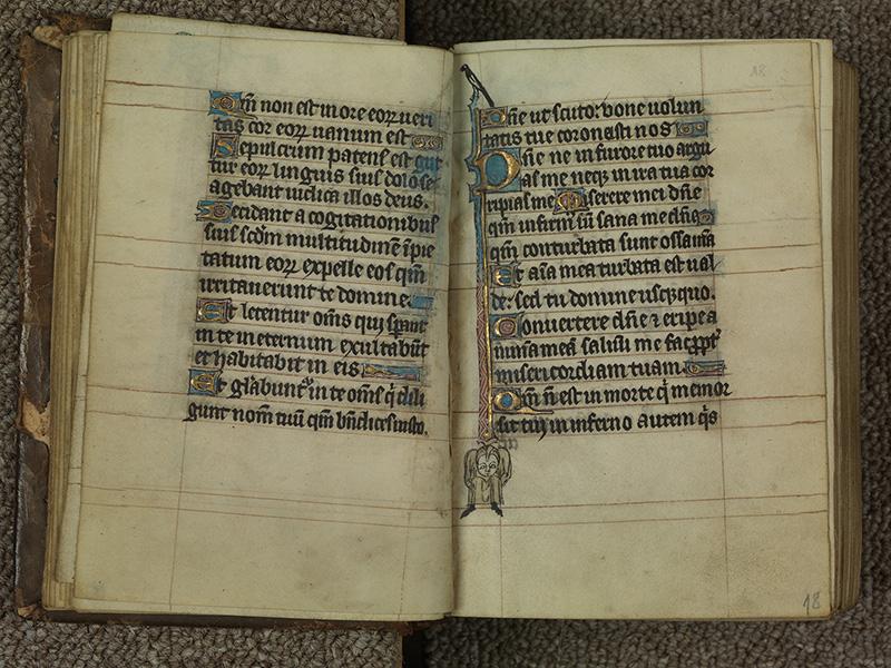 PARIS, Bibliothèque de l'Ecole des Beaux-Arts, Ms.Mas 0015, f. 017v - 018