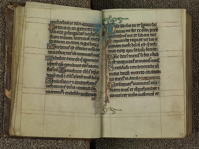 PARIS, Bibliothèque de l'Ecole des Beaux-Arts, Ms.Mas 0015, f. 018v - 019