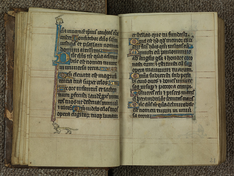 PARIS, Bibliothèque de l'Ecole des Beaux-Arts, Ms.Mas 0015, f. 020v - 021