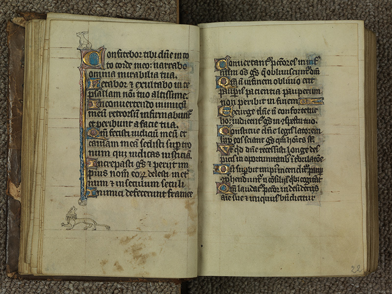 PARIS, Bibliothèque de l'Ecole des Beaux-Arts, Ms.Mas 0015, f. 021v - 022