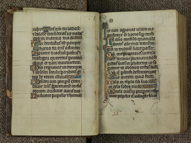 PARIS, Bibliothèque de l'Ecole des Beaux-Arts, Ms.Mas 0015, f. 023v - 024