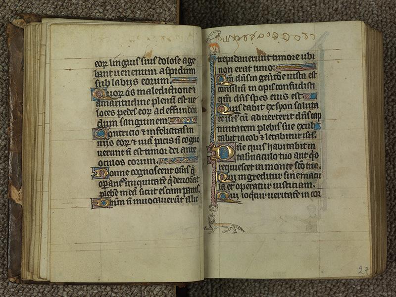 PARIS, Bibliothèque de l'Ecole des Beaux-Arts, Ms.Mas 0015, f. 026v - 027