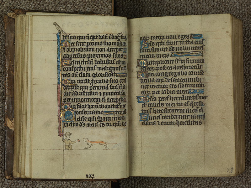 PARIS, Bibliothèque de l'Ecole des Beaux-Arts, Ms.Mas 0015, f. 027v - 028