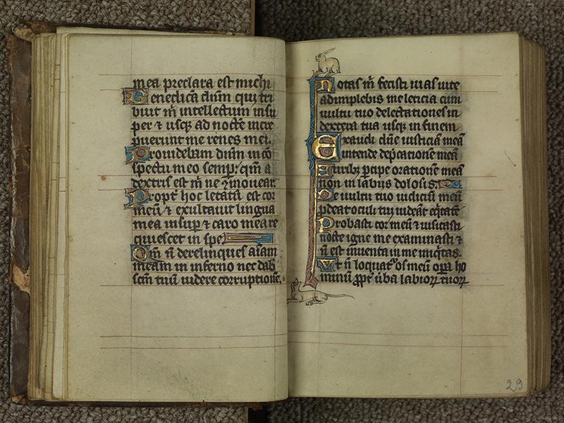 PARIS, Bibliothèque de l'Ecole des Beaux-Arts, Ms.Mas 0015, f. 028v - 029