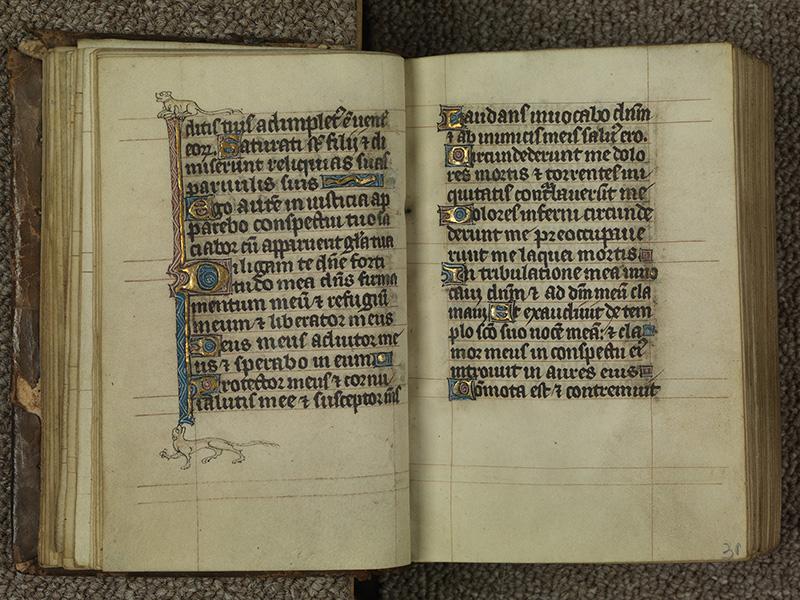 PARIS, Bibliothèque de l'Ecole des Beaux-Arts, Ms.Mas 0015, f. 030v - 031