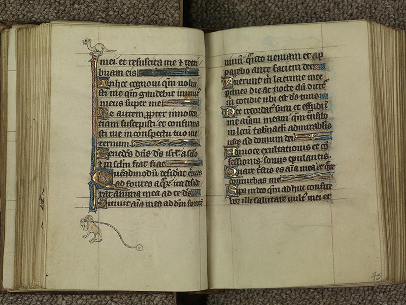 PARIS, Bibliothèque de l'Ecole des Beaux-Arts, Ms.Mas 0015, f. 074v - 075