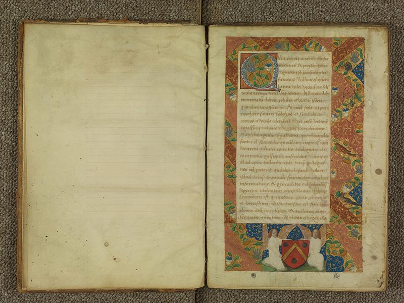 PARIS, Bibliothèque de l'Ecole des Beaux-Arts, Ms.Mas 0039, f. 000Av - 001