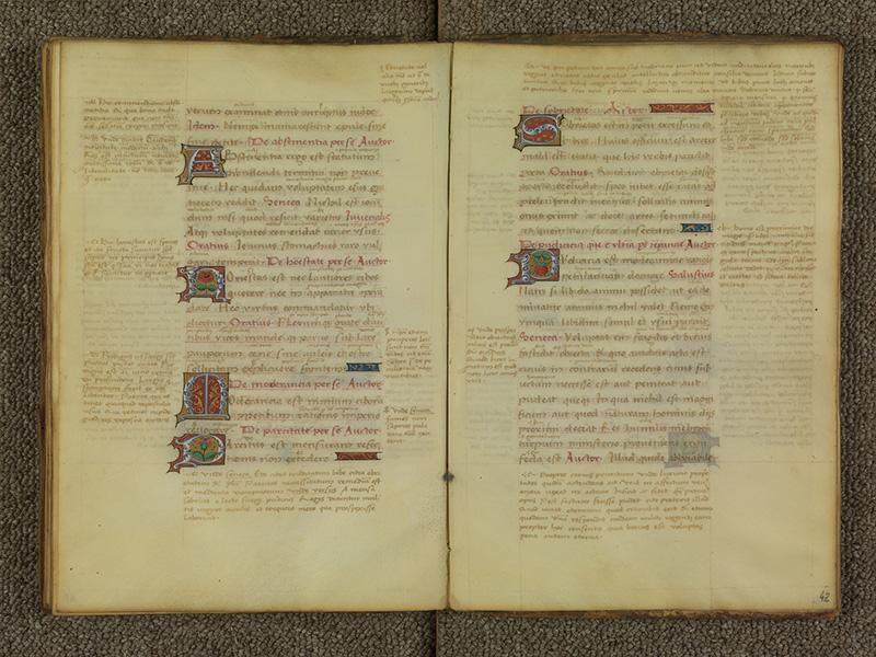 PARIS, Bibliothèque de l'Ecole des Beaux-Arts, Ms.Mas 0039, f. 041v - 042