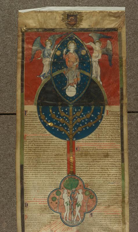 PARIS, Bibliothèque de l'Ecole des Beaux-Arts, Ms.Mas 0071, vue 1